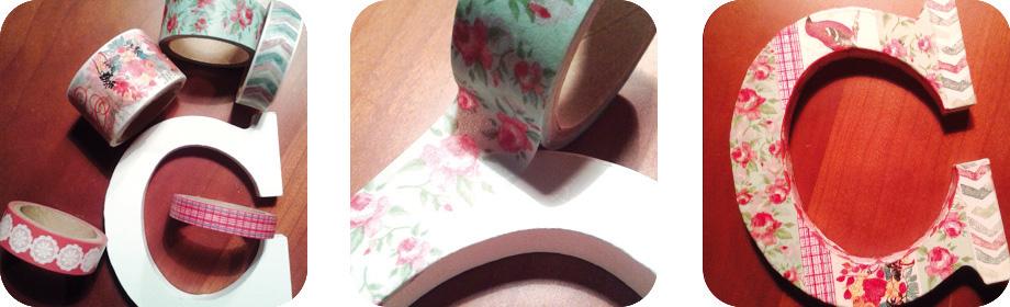 Más washi tape… ¡decora tuinicial!