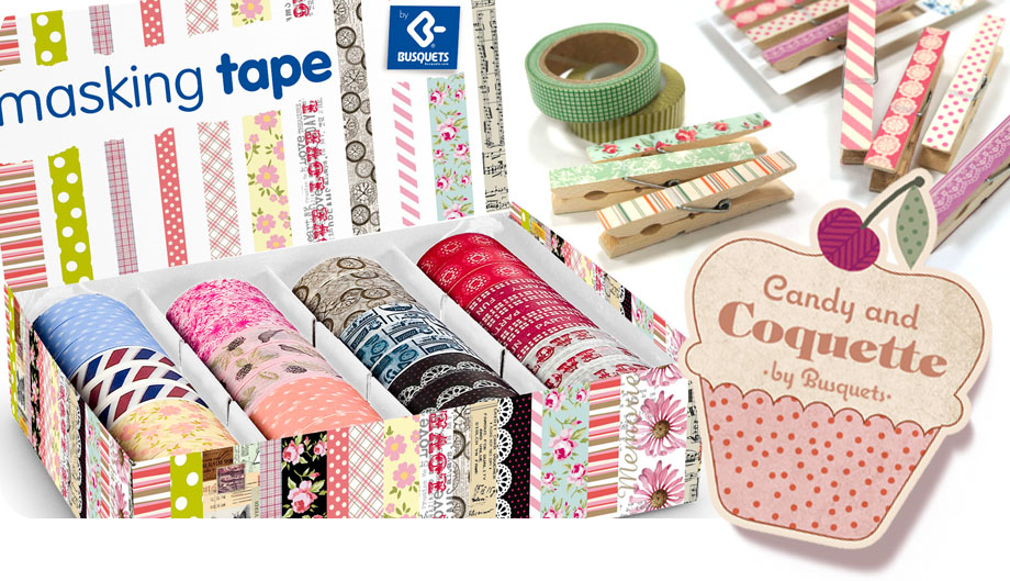 Introducci n al washi candy and coquette - Washi tapes baratos ...