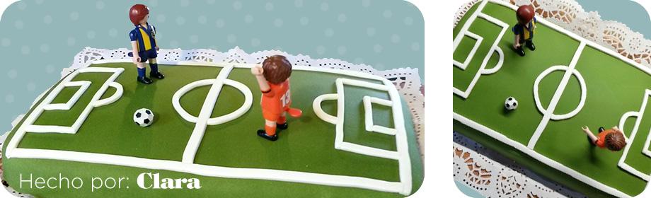 fondant campo de futbol