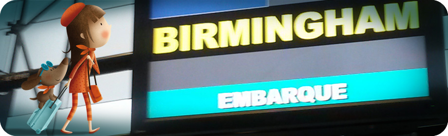 Volando a… ¡Birmingham!