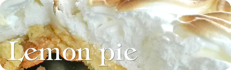 Lemon Pie (tarta buenísima de limón y merengue)