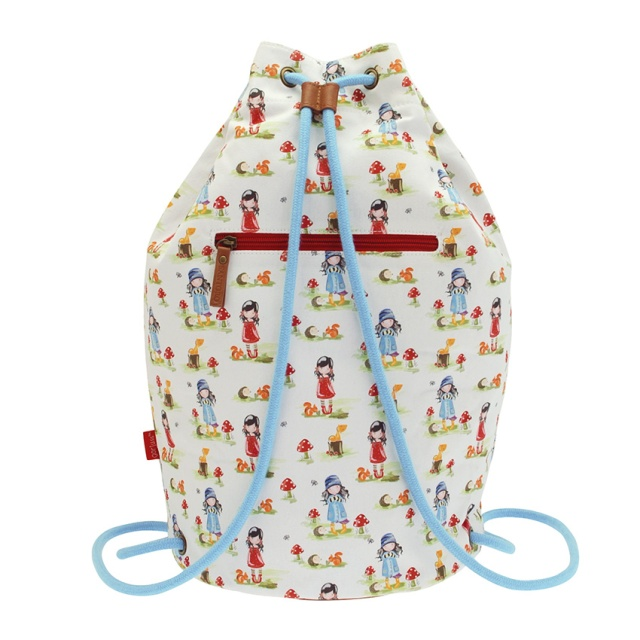 540GJ01-Gorjuss-PP Canvas Duffel Bag-Toadstools-back_HR